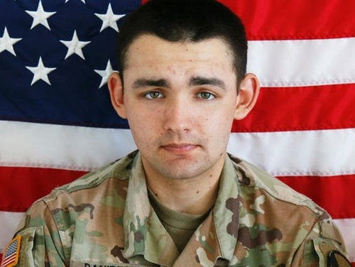 Spc. Nicholas C. Panipinto was killed when the Bradley Fighting Vehicle he was in overturned at Camp Humphreys on Nov. 6, 2019. (Army)