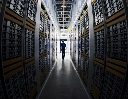 Lawmakers on Capitol Hill continue to be frustrated with data center policy coming out of the Office of Management and Budget. (JONATHAN NACKSTRAND/AFP/Getty Images)