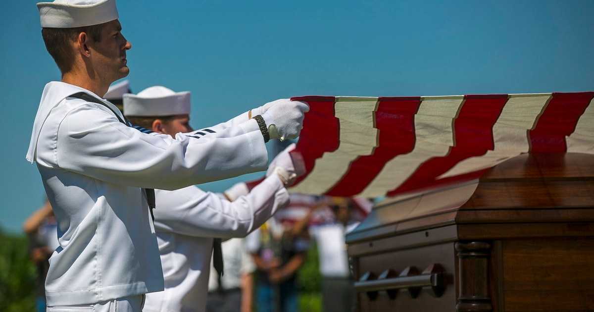 Remains of Pearl Harbor sailors return home after 77 years