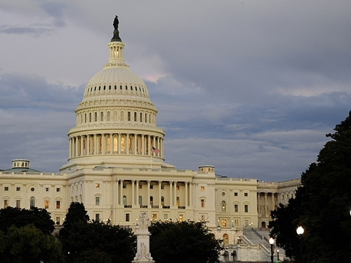 Congress approved a $716 billion bill that has cyber provisions which add regulation to contractors. (AFP PHOTO/Karen BLEIER)
