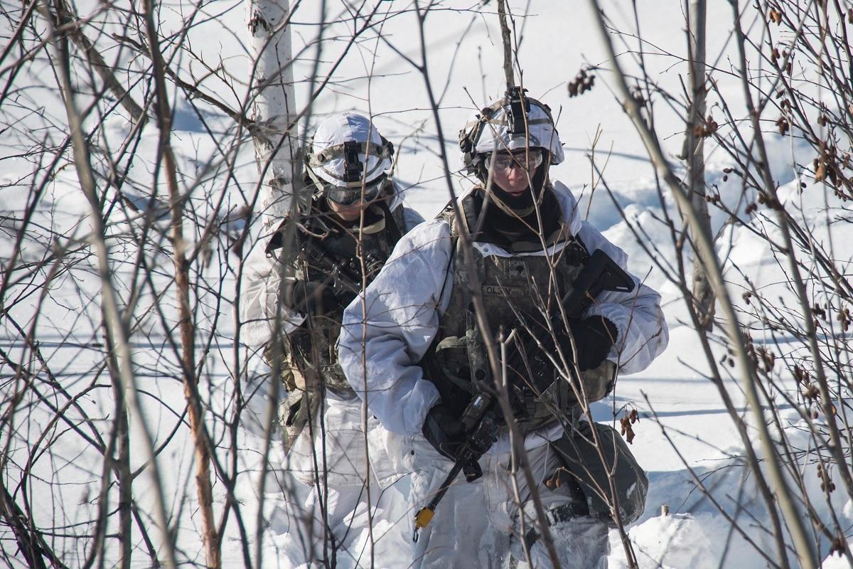 Soldiers, sailors, airmen, Marines — and Coasties, too