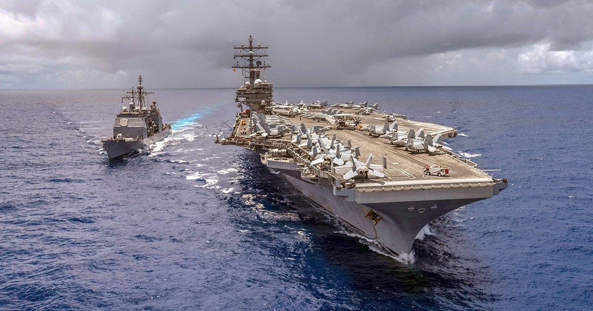 Two sailors in aircraft carrier drug ring plead guilty to distribution charges