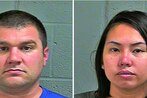 Sailor, wife accused of running prostitution ring out of Oklahoma massage parlor