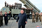 South Korea says North Korea fired a projectile off eastern coast