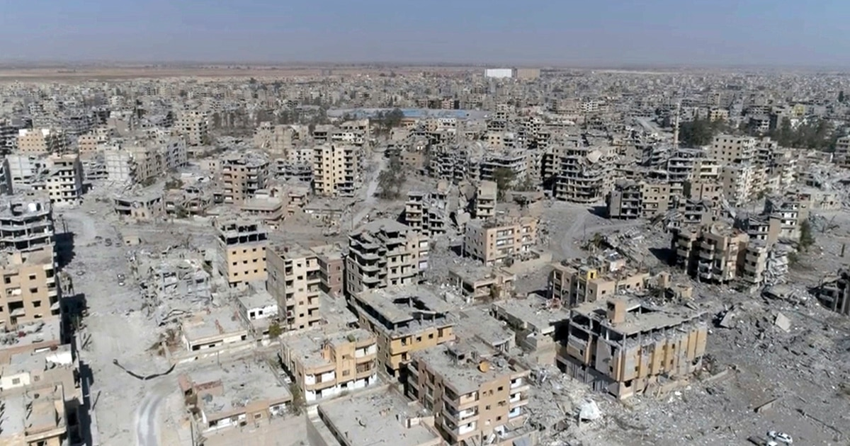 Groups say airstrikes by US-led coalition killed 1,600 civilians in Raqqa
