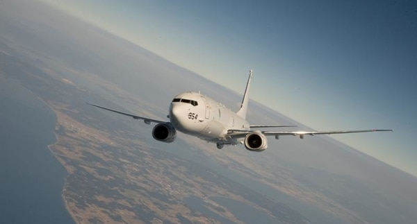 A U.S. Navy P-8 Poseidon takes flight. Norway plans to replace its fleet of P-3s with five new P-8 maritime patrol aircraft. (U.S. Navy)