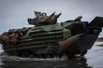 The Marine Corps wants three types of amphib vehicles ― including one with a 30mm cannon
