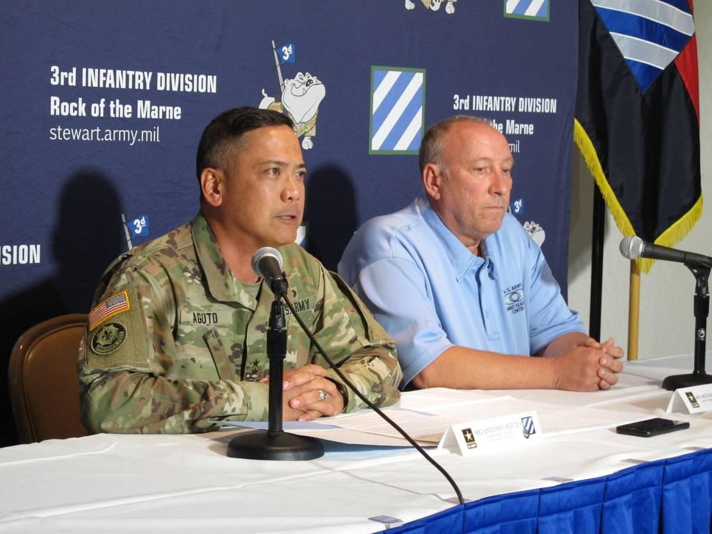 Army Maj. Gen. Antonio Aguto