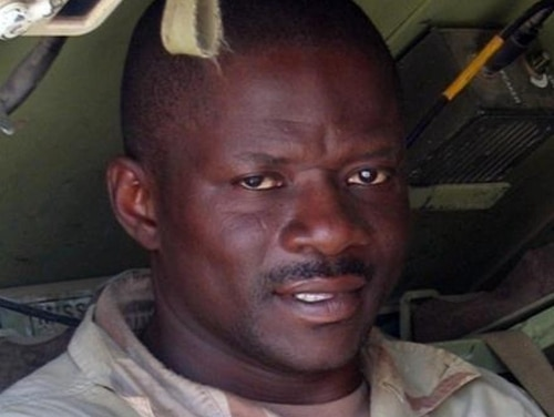 Sgt. 1st Class Alwyn Cashe was awarded the Silver Star for pulling fellow soldiers from a burning vehicle in Iraq in October 2005, but military advocates have pushed for years to upgrade that honor. (Army)