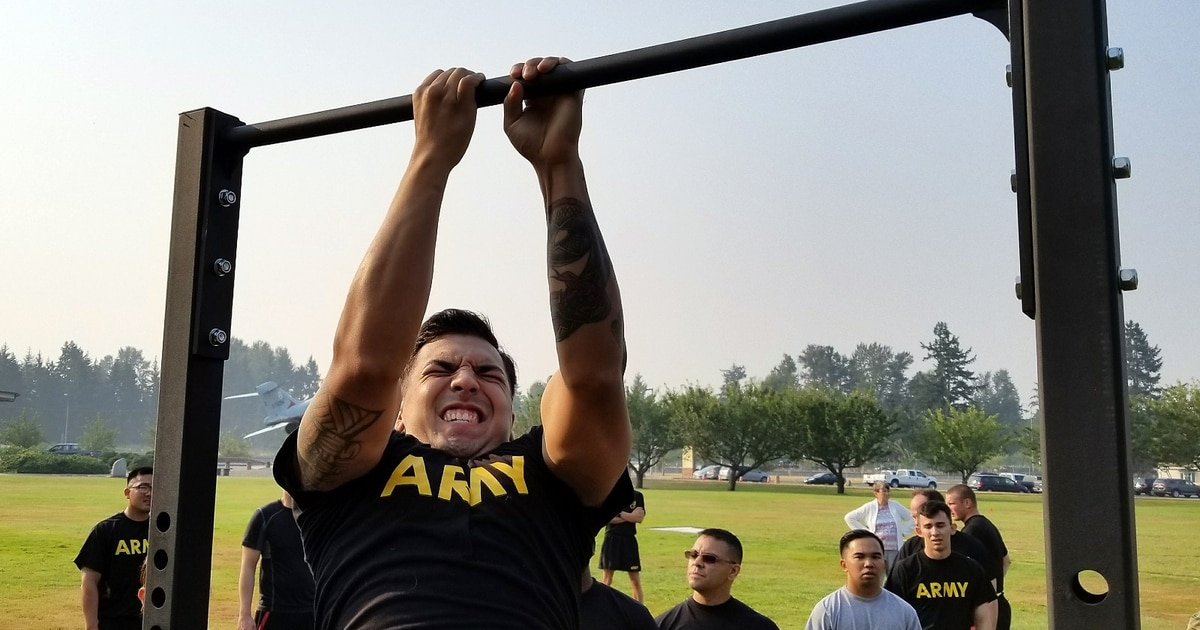 A new Army PT test is on its way  This is not a drill