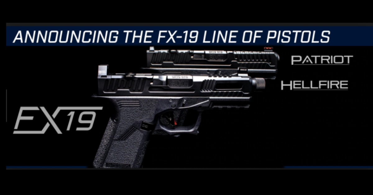 Check out the Faxon Firearms FX-19 pistols