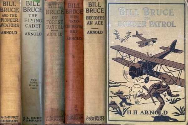 Among Hap Arnold's important contributions were six books that helped spark dreams of flight in countless young Americans. (HistoryNet archives)