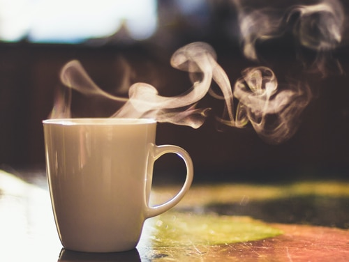 The best part of waking up. (Getty Images)