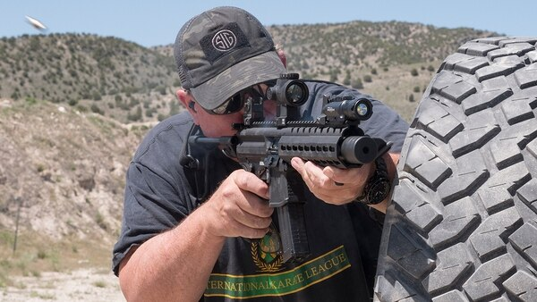 More and more leagues are allowing pistol caliber rifles and carbines into the mix, helping to grow the numbers in certain shooting sports like USPSA and IDPA. (Photo by David Bahde)