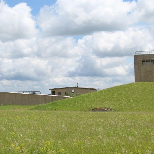 This Fairdale, North Dakota, missile silo and bunker is up for auction in August. (Pifer)