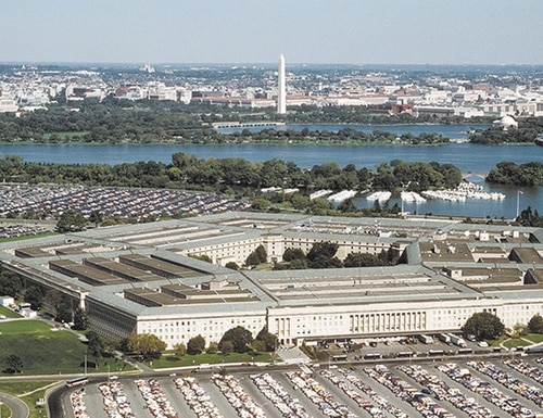 Two current officials in the Pentagon are set to get new job titles. (Master Sgt. Ken Hammond/U.S. Air Force)