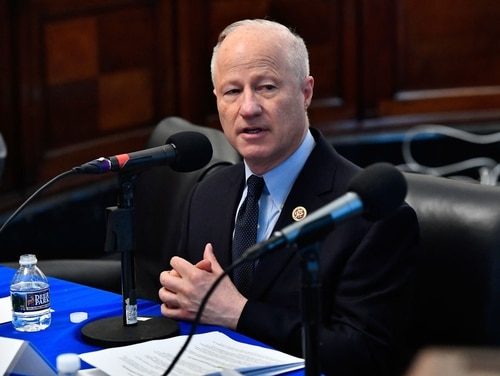 US Rep. Mike Coffman, R-Colo., appears on Capitol Hill on May 16, 2018, in Washington. (Larry French/Getty Images for SiriusXM)