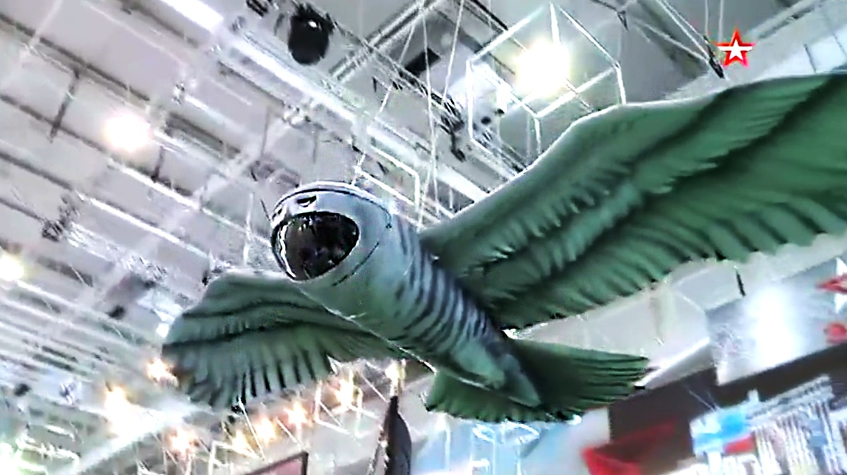 This Emo Russian Owl Drone Is A Real Hoot