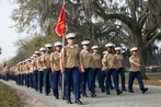 Move for more gender integration at Marine Corps boot camp ends; future unclear