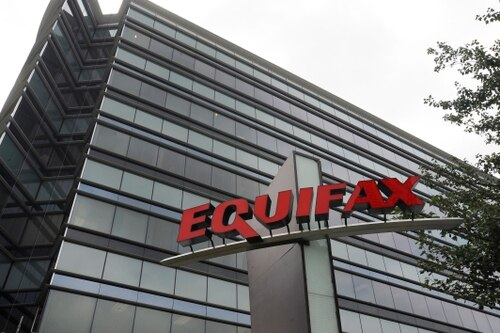 This July 21, 2012, photo shows Equifax Inc., offices in Atlanta. Credit monitoring company Equifax says a breach exposed social security numbers and other data from about 143 million Americans. The Atlanta-based company said Thursday, Sept. 7, 2017, that