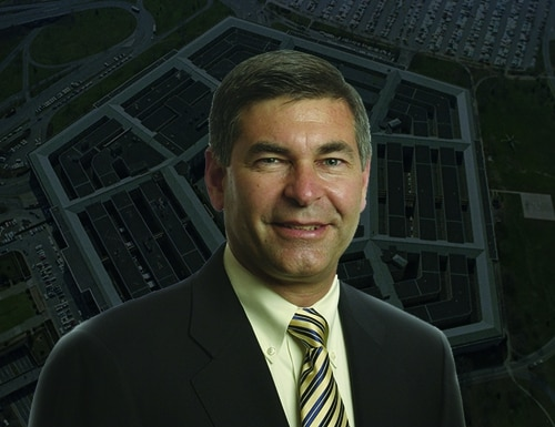 Michael Brown is the head of the Pentagon's Defense Innovation Unit. (DoD photos)