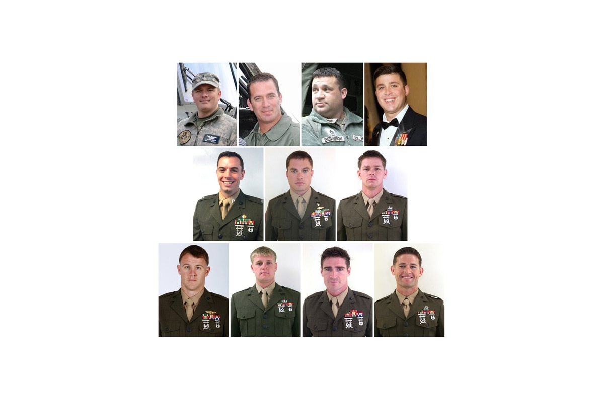 Black Hawk tragedy  Orders were ignored and 11 men died 110118396c
