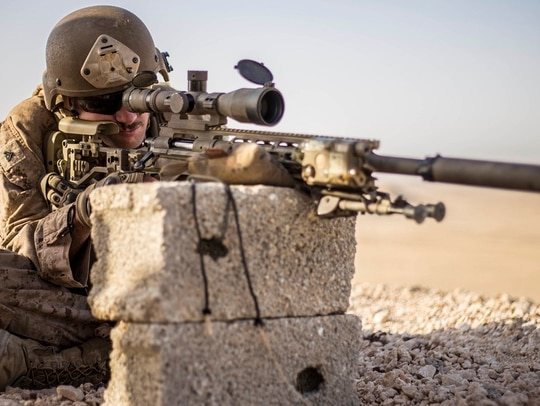The Corps says it only has 150 sergeants and below holding the coveted 0317 scout sniper job field. (Cpl. April L. Price/Marine Corps)