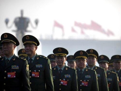 The Chinese military has established a Network Systems Department, responsible for information warfare. (Mark Schiefelbein/AP)
