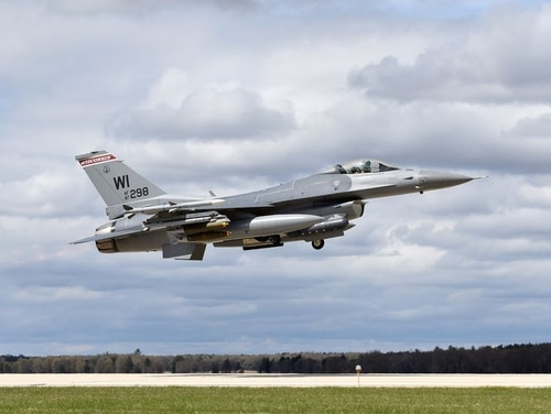 The Wisconsin Air National Guard's 115th Fighter Wing has resumed F-16 flights after grounding pilots in the wake of a fatal crash Dec. 8. (Wisconsin Air National Guard)