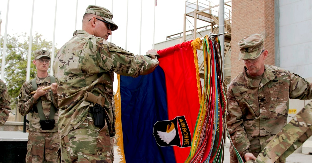 The 101st Airborne Division is back in Afghanistan
