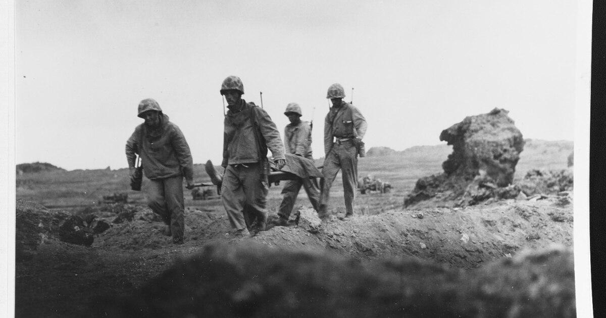 Decades after battle, Iwo Jima veterans meet in Galveston