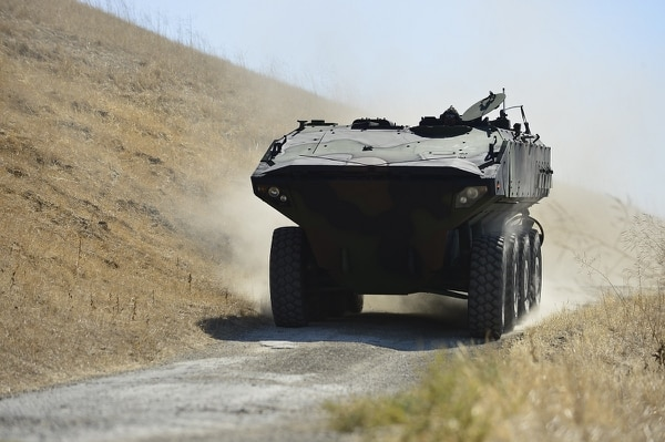 BAE Systems' Amphibious Combat Vehicle prototype took part in operational tests with Marines over the past two months. SAIC and BAE are competing to win the Marine Corps' ACV low-rate initial production contract expected to be awarded in June 2018. (Photo courtesy of BAE Systems)