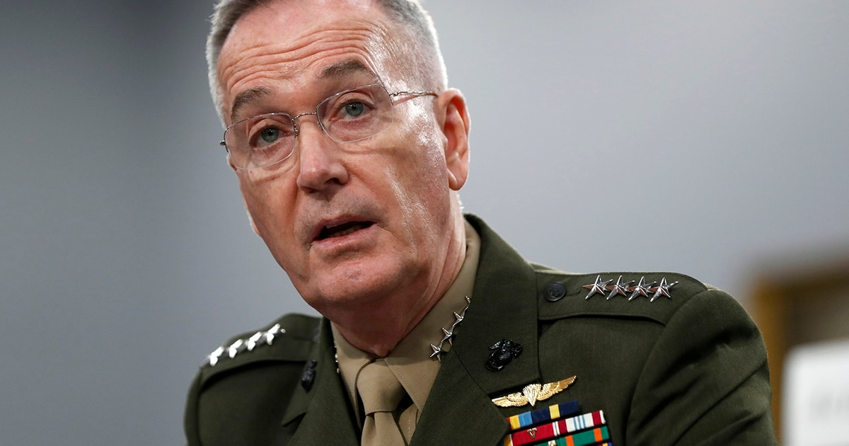 Lockheed adds Dunford, former top U.S. military officer, to board