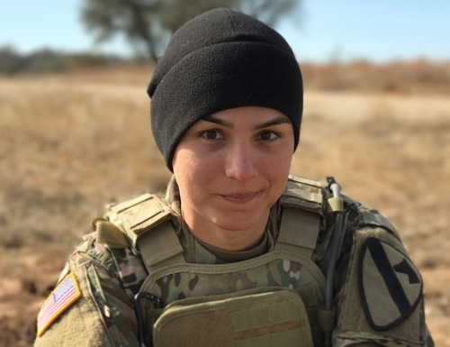 Spc. Alex Ketchum, an infantryman with 1st Cavalry Division at Fort Hood, Texas, officially changed her gender marker following a year and a half of hormone therapy and less than a year after the Defense Department lifted its ban on service for transgender troops. (Photo courtesy Spc. Alex Ketchum)