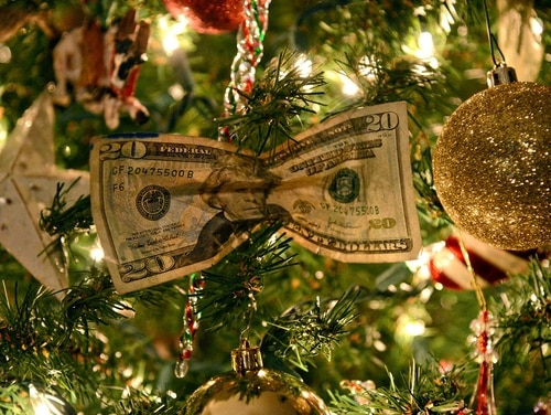 Check out these suggestions if you're facing a holiday-themed money crunch. (Kelly White/Air Force)