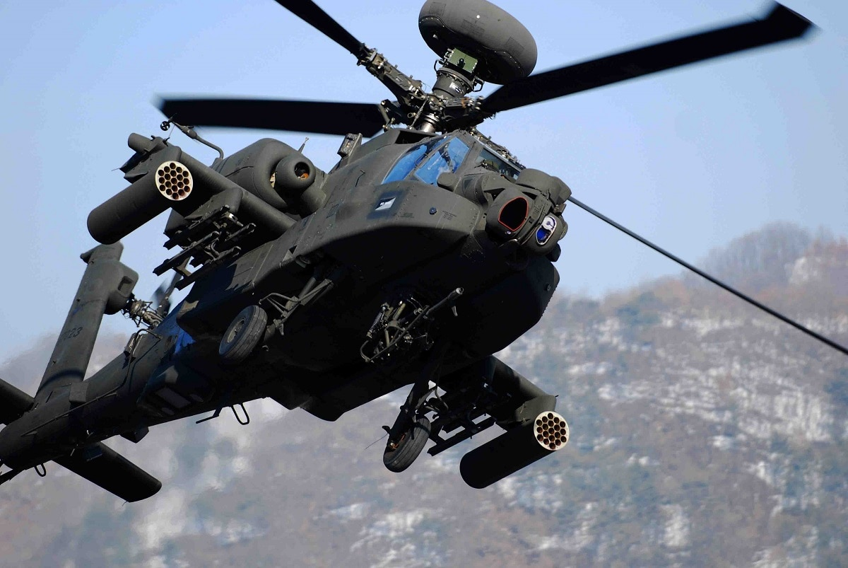 US Military News • Mississippi National Guard • AH-64 Apache Helicopter