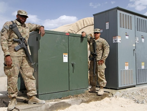 Some believe the Department of Defense should move away from typical network defense and expand its coverage to include industrial control systems more extensively. (Spc. Mark VanGerpen/U.S. Army National Guard)