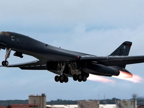 The Air Force announced it was grounding its fleet of B-1 bombers Thursday as a precautionary measure after more issues were discovered with the ejection seat.