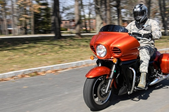 Ready to hit the road this summer? Check out some must-have additions to your riding gear. (Mark Herlihy/Air Force)