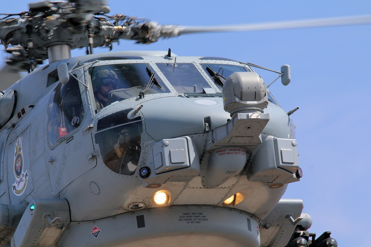 Australian Navy gets more out of the Seahawk helicopter than