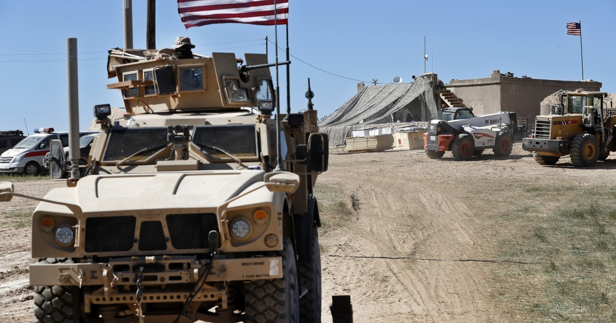 Troop withdrawal from Syria has begun, US official says