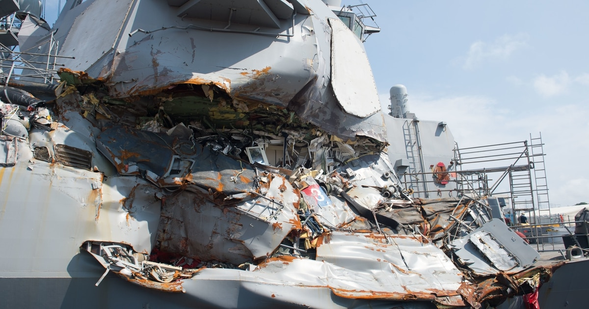 Ship owners to pay U.S. government for Fitzgerald collision
