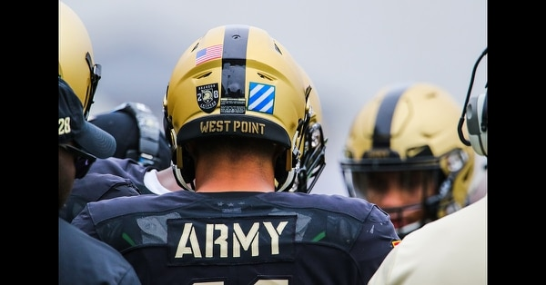 The Army football team plays Liberty University at Michie Stadium on Sept. 8, 2018, at West Point, N.Y. (Brandon O'Connor/Army)