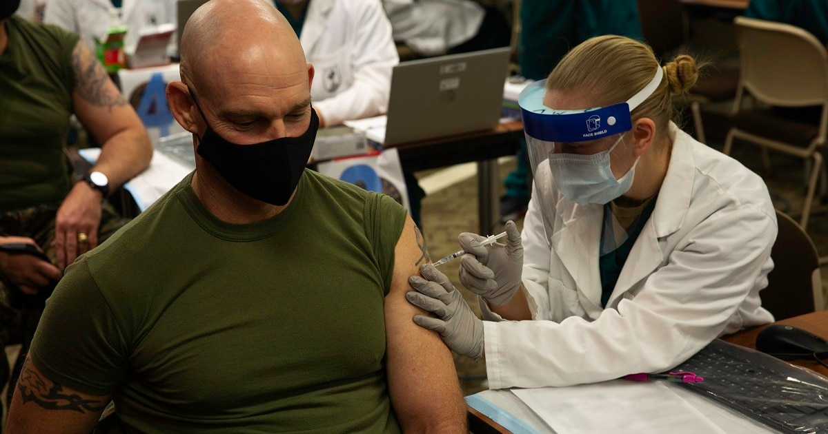 Mandatory COVID-19 vaccinations are necessary, these top enlisted leaders say