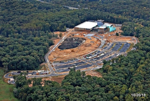 The National Museum of the United States Army is being built on an 84-acre campus at Fort Belvoir, Va. (Courtesy photo via retired Col. Duane Lempke)