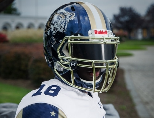 The Mids will be donning a Bill the Goat-themed uniform for their Dec. 8 tilt against rival Army. (Navy Athletics)