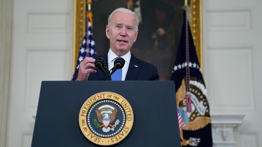 President Joe Biden said that he hopes the Sammies awards will inspire more people to get into public service. (Evan Vucci/AP)