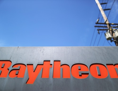 Raytheon and UTC announced in June 2019 plans to officially merge into a new entity called Raytheon Technologies Corporation. (Mario Tama/Getty Images)