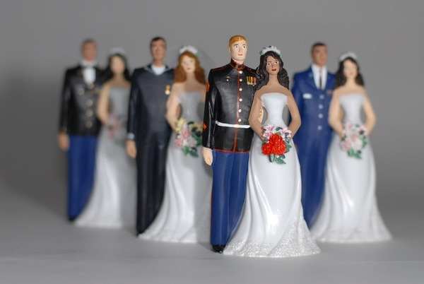 By not updating insurance policies after key life events such as weddings, service members could create unintended problems for their loved ones should disaster strike. (Staff/file)