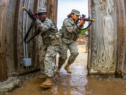 The Army is moving toward extending basic training for all soldiers. (Sgt. 1st Class Brian Hamilton/Army)